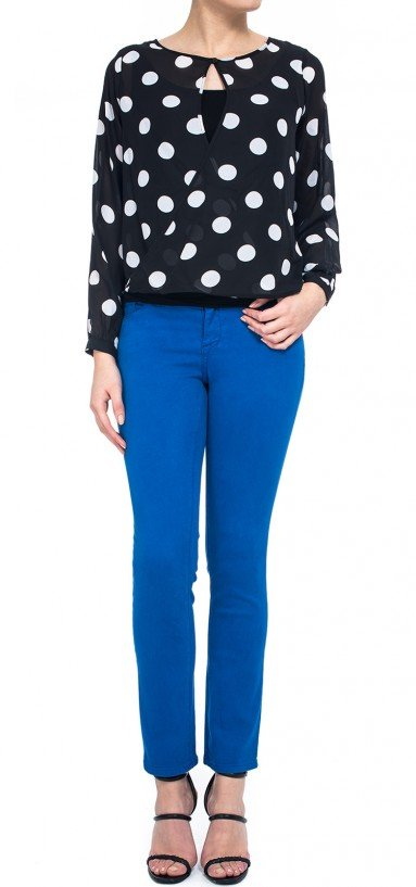 Legging in blue Super Sculpt