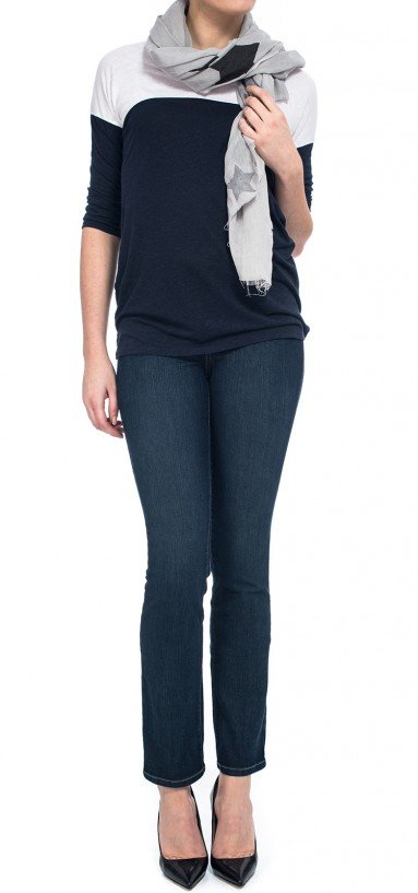 Sheri Skinny in blue lightweight denim (Plus)