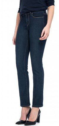 Sherri Skinny in blue lightweight denim